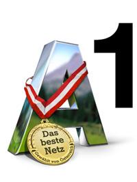 Das meist ausgezeichnete Netz Österreichs: A1