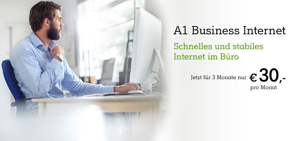 A1 Festnetz-Internet Business