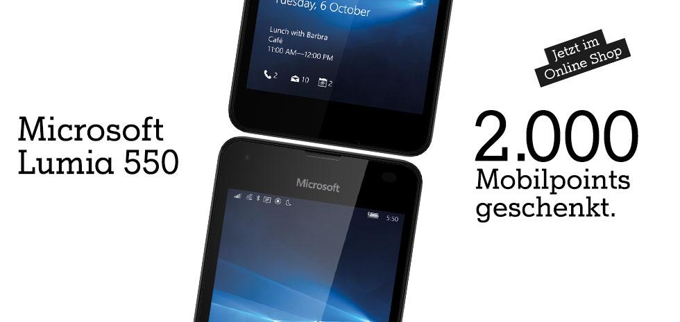 Exklusiv für A1 Kunden im Februar: Das Microsoft Lumia 550 zum Vorteilspreis!