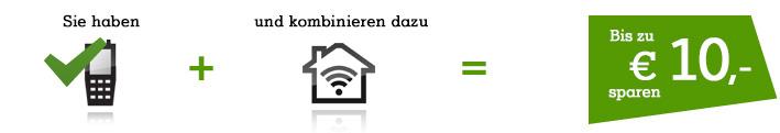 Kombinieren & sparen - Mobilkunden